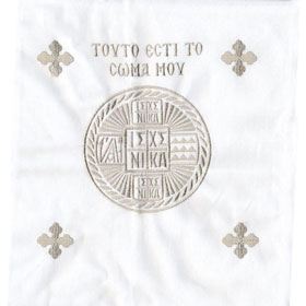 Embroidered Antidoro - Holy Bread Pouch (34cm)
