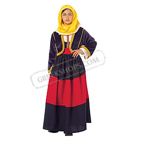 Maniatisa Costume for Girls Size 8-12 Style 643075