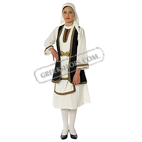 Souliotisa Costume for Girls Size 6-14 Style 643087
