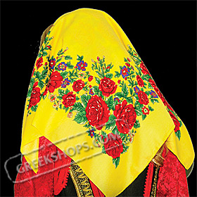 Traditional Head Scarf Style 647510