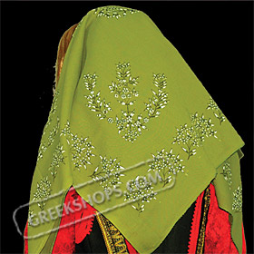 Traditional Head Scarf Style ST647512