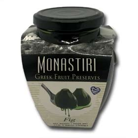 Monastiri Greek Fig Preserve, 500g Glass Jar