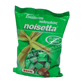 ION Noisetta Milk Chocolate Pralines filled with hazelnuts 500gr.