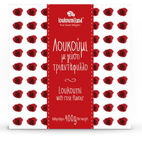 "Loukoumiland Greek Delights ""Loukoumi"", Rose flavor, 400gr"