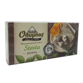 Olympos Greek Halvah Sugar Free Chocolate Flavor, 200gr