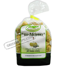 Manna Olive Oil Kythirian style Rusks from Crete, 500 grams