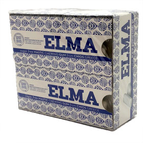 ELMA Sugar-free Mastic Gum from Chios, 10-pack