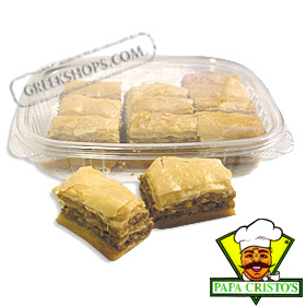Homemade-style Traditional Greek Baklava