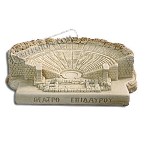 "Epidavros Theater (7"" x 8"" x 3"") (Clearance 40% Off)"