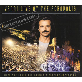 Yanni, Live At The Acropolis + bonus DVD (NTSC)