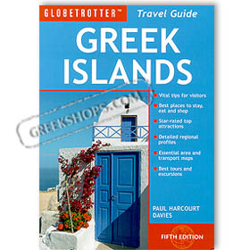 Globetrotter Greek Islands Travel Pack (Guide + Map) in English Special 50% off