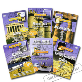 Discover Greece 6 DVD Set (NTSC/PAL)