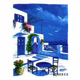 Greek Islands Tshirt 53