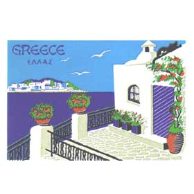 Greek Islands Tshirt 68