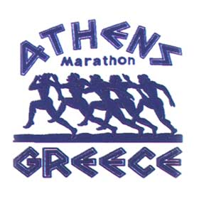ATHENS GREECE Marathon Runners Sweatshirt 164