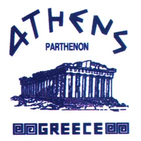 Athens Parthenon GREECE Tshirt 163