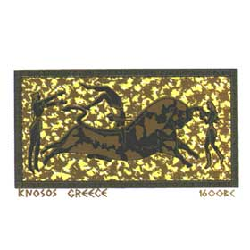 Ancient Greece Knossos Tshirt T166