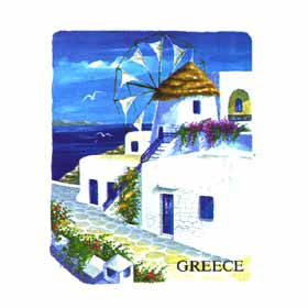 Greek Islands Tshirt 65