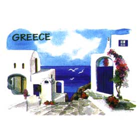 Greek Islands Tshirt 102