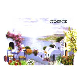 Greek Islands Tshirt 114