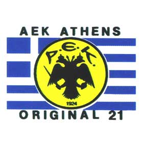 Greek Sports A.E.K. Sweatshirt Style 990
