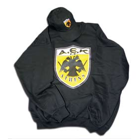 AEK Athens Sweatshirt & Cap Fan Gift Package
