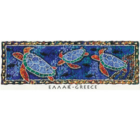 GREECE Turtles Tshirt Style D663