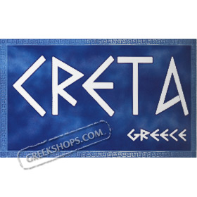 Crete w/ Greek Key T-shirt Style D145