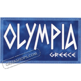 Olympia w/ Greek Key Hooded Sweatshirt Style D153