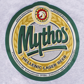 Mythos Greek Beer Tshirt