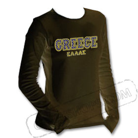 GREECE Tshirt Longsleeve Shirt 213