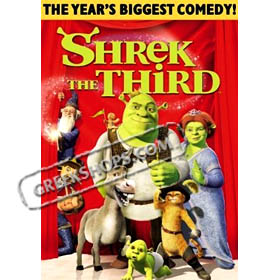 Dreamworks :: Shrek the Third DVD (PAL / Zone 2)