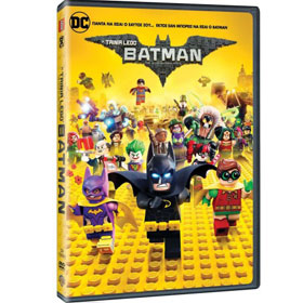 Lego Batman : The Movie DVD In Greek (PAL Zone 2)
