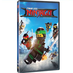Lego Ninjago The Movie DVD In Greek (PAL Zone 2)