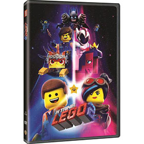 Lego The Movie 2 DVD In Greek (PAL Zone 2)