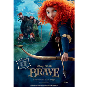 Disney Pixar :: Brave, DVD (PAL/Zone 2), In Greek