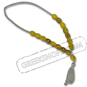 Worrybeads KN15HONEY Honey