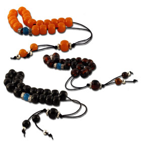 "Traditional Greek Worrybeads 8"" 3-color options"