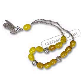 Worry Beads KN19NW Yellow