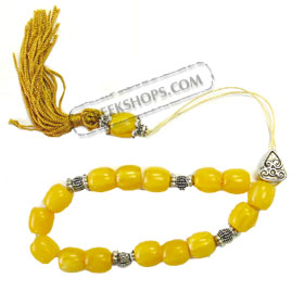 Worry Beads KN120Y Yellow
