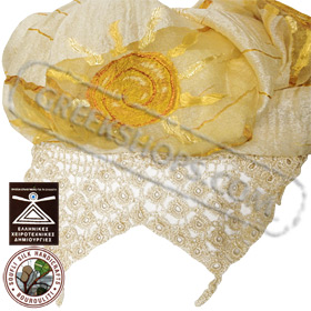 100% Greek Silk Shawl / Scarf Style YS373