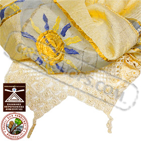 100% Greek Silk Shawl / Scarf Style YS374