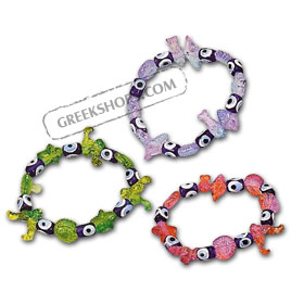 Children's Evil Eye Bracelet P04