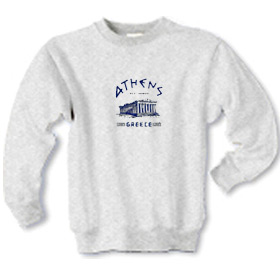Ancient Greece Parthenon Children's Sweatshirt 163B