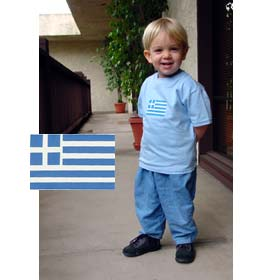GREEK Flag Toddler