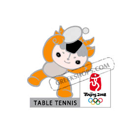 Beijing 2008 Yingying Table Tennis Olympic Sports Pin