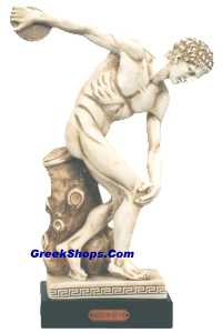 Discus Thrower Statue  (Clearance 40% Off)