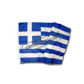 Greek flag for standard outdoor use 3x5 ft.