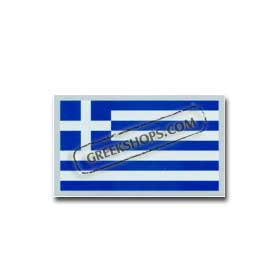 Auto Decal Greek Flag Reflective