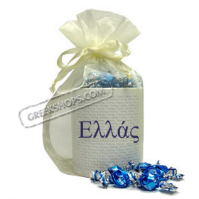 Coffee Mug Gift Package with Greek Candy - Greece ( in Greek )